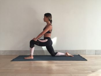 how to get into yoga splits
